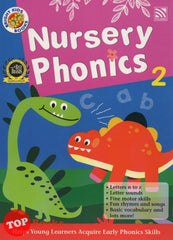Bright Kids Books Nursery Phonics 2 -2019
