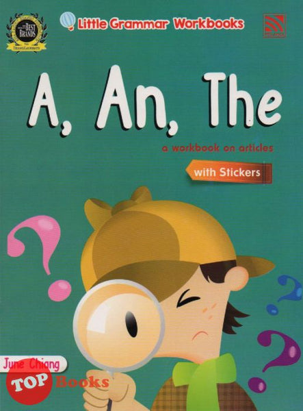 Little Grammar Workbooks With Stickers - A, An, The (a workbook on articles)