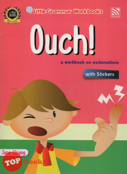 Little Grammar Workbooks With Stickers - Ouch! (a workbook on exclamations)