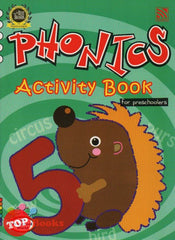 My Preschool World - Phonics - Activity Book 5 for preschoolers  - 2015
