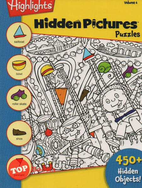 [Pelangi Kids] Highlights Hidden Pictures Puzzles Volume 6