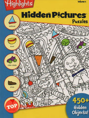 Highlights - Hidden Pictures Puzzles - Volume 6