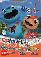 [Pelangi Kids] Cam & Leon Colouring and Fun Activities