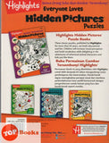 Highlight-Gambar Tersembunyi- Hidden Picture Puzzles- Buku 4 (Bahasa / English)
