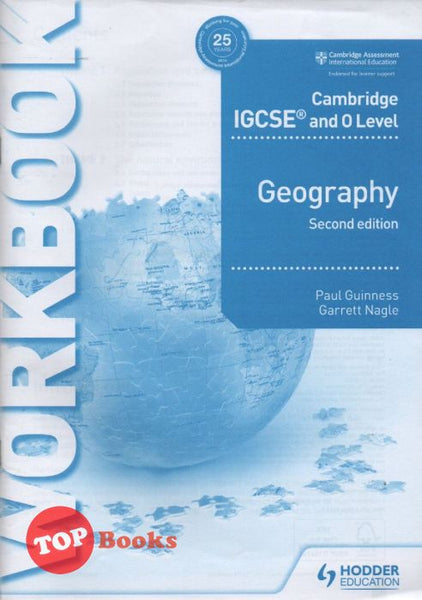 Cambridge IGCSE and O Level - Geography 2nd Edition - Workbook -2020