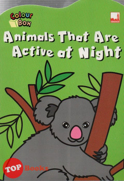 [Dickens Kids] Colour Box Animals That Are Active at Night