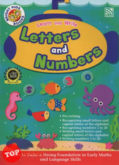 [Pelangi Kids] Bright Kids Books Learn and Write Letters and Numbers