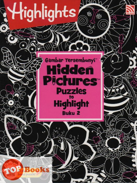 [Pelangi Kids] Highlights Gambar Tersembunyi Hidden Pictures Puzzles to Highlight Buku 2 (Malay & English)