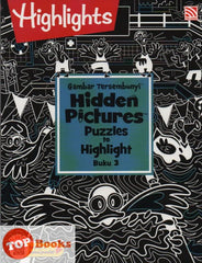 Highlights - Gambar Tersembunyi - Hidden Pictures Puzzles to Highlight - Buku 3 (BM/BI)