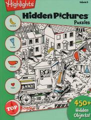 Highlights - Hidden Pictures Puzzles - Volume 8