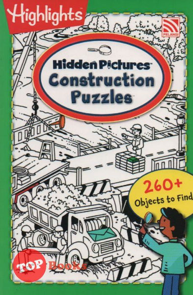 [Pelangi Kids] Highlights Hidden Pictures Construction Puzzles