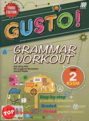 Gusto ! Grammar Workout KSSM Form 2 Third Edition -2020
