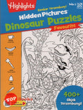 [Pelangi Kids] Highlights Gambar Tersembunyi Hidden Pictures Dinosaur Puzzles Favourite Buku 3 (Malay & English)