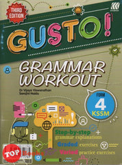 [2020 Edition] Gusto! Grammar Workout KSSM Form 4 Third Edition