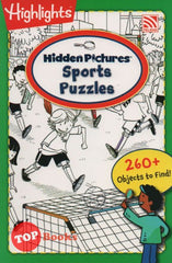[Pelangi Kids] Highlights Hidden Pictures Sports Puzzles