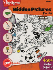 [Pelangi Kids] Highlights Hidden Pictures Puzzles Volume 4