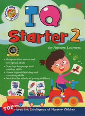 [Pelangi Kids] Bright Kids Books IQ Starter 2 for Nursery Learners