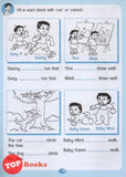 [Pelangi Kids] Little Grammar Workbooks with Stickers Press or Do Not Press? (a workbook on positive and negative sentences)
