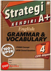 [Sasbadi] Strategi Kendiri A+ Grammar & Vocabulary Year 4 (2021)
