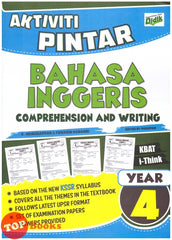 Aktiviti Pintar Bahasa Inggeris (Comprehension & Writing) Year 4 -2019
