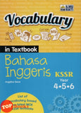 [Ilmu Bakti] Vocabulary In Textbook Bahasa Inggeris KSSR Year 4.5.6