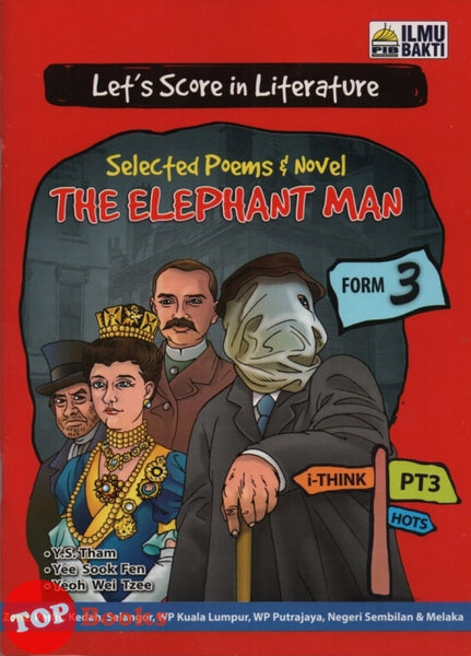 Let's Score In Literature Selected Poems & Novel The Elephant Man Form 3 -2019