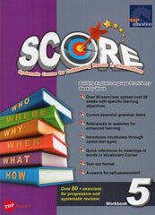 Score English Workbook 5