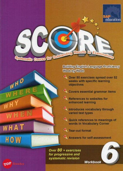 [SAP SQ] Score English Workbook 6