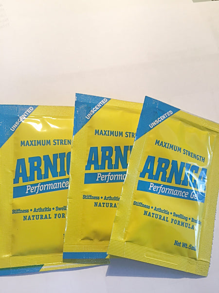 Arnica Performance Gel- 12 Sample Packs (5mL each)
