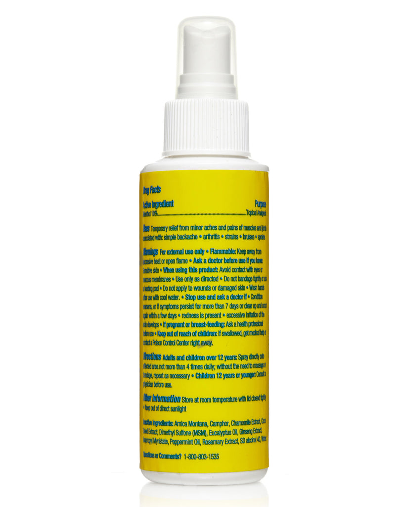Arnica Natural Cooling Spray