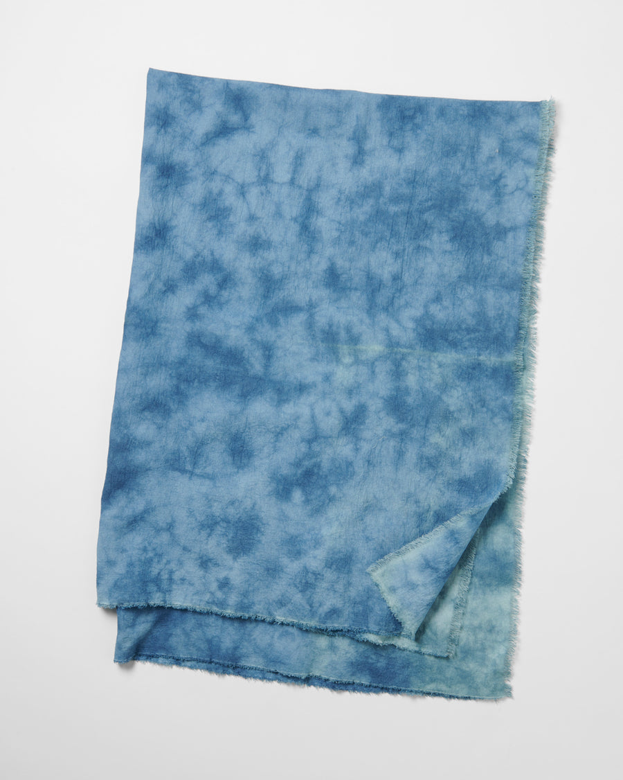 NATURAL TIE-DYE STOLE