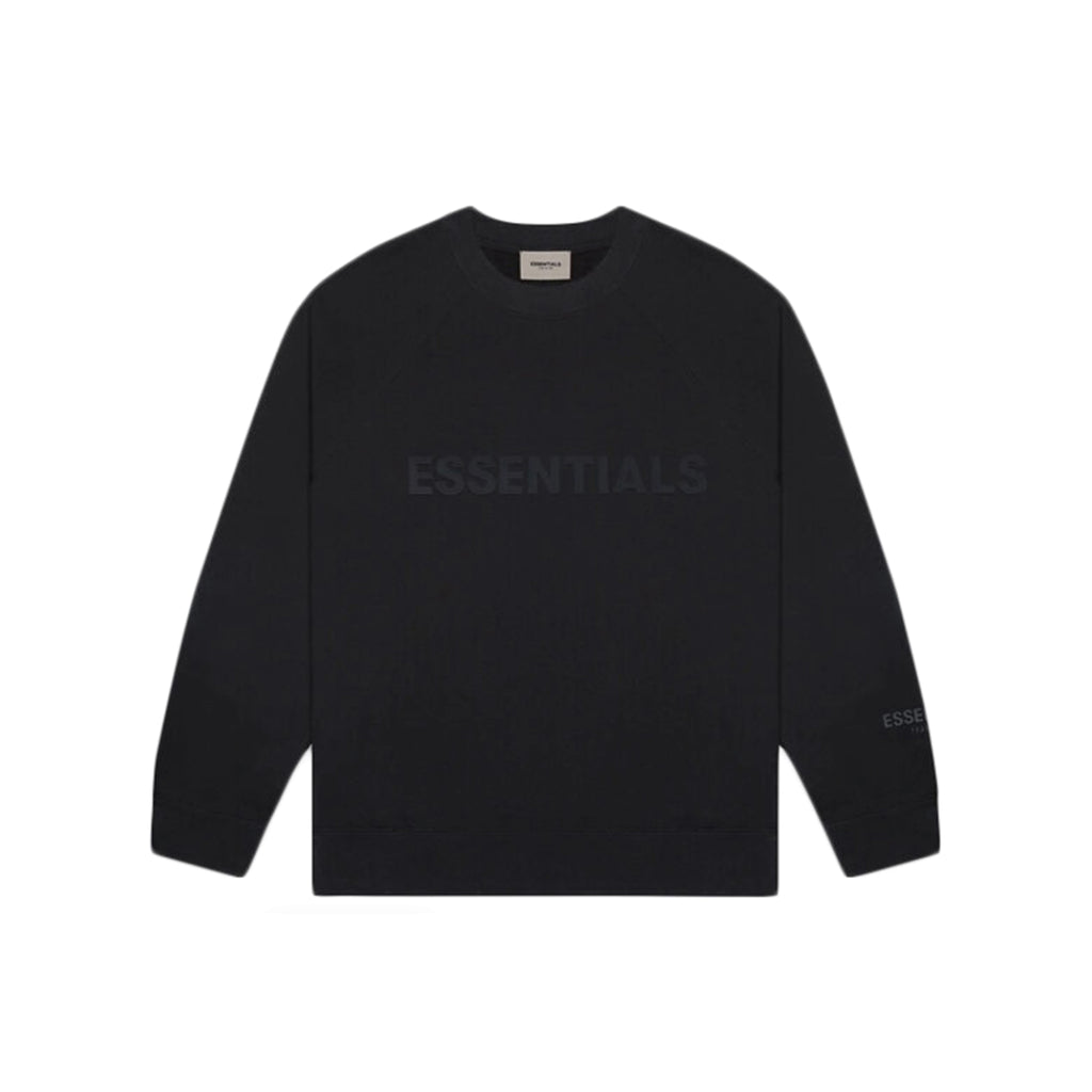 Fear Of God Essentials Crew Neck - Black | Australia New Zealand