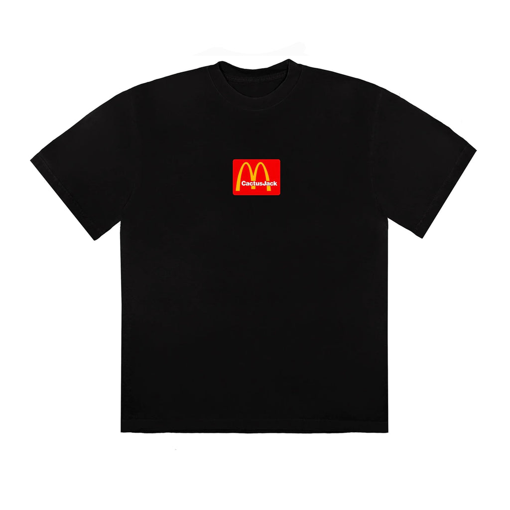 Travis-Scott-x-McDonalds-Sesame-II-T-Shirt-Black-Red Front | Australia New Zealand