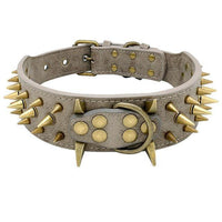 Cool Spikes Studded Dogs Collar for German Shepherd Mastiff Rottweiler Bulldog - FastAndSafeStoreFastAndSafeStore
