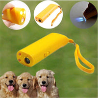 Strengthen Pet Dog Training equipment Ultrasound Repeller 3 in 1 Control Trainer Device Anti Barking Stop Bark Deterrents - FastAndSafeStoreFastAndSafeStore