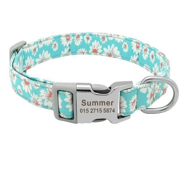 Customized Printed Collar with Free Engraving ID Name - FastAndSafeStoreFastAndSafeStore
