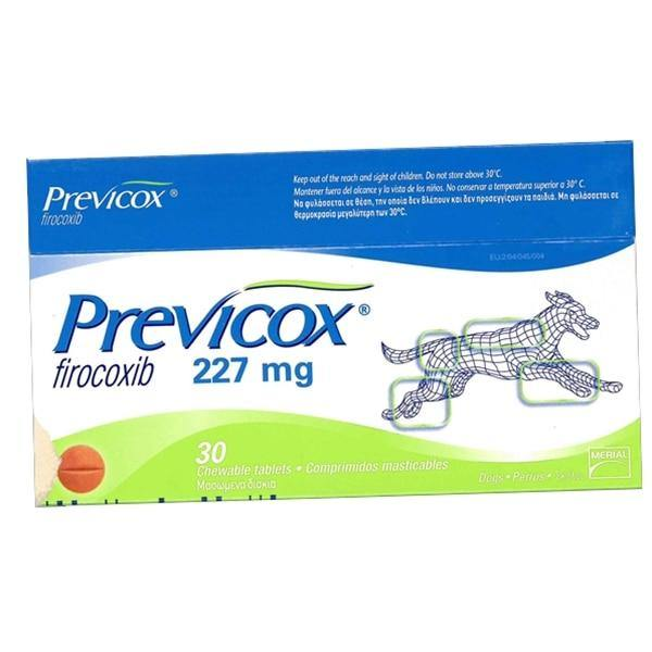 Previcox (Firocoxib) Chewable Tablets for Dogs 57/227mg - FastAndSafeStoreFastAndSafeStore