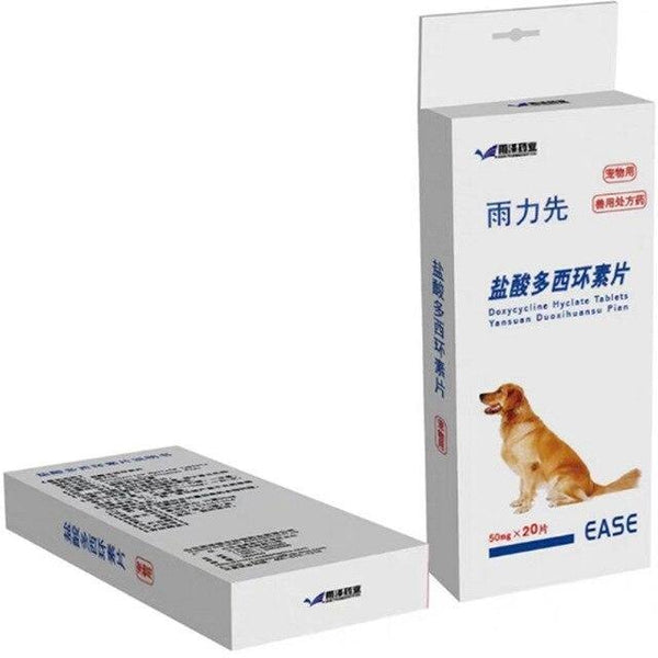 Doxycycline Tablets 10/50mg For Dogs&Cats 20/100 tablets - FastAndSafeStoreFastAndSafeStore