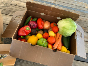 FUNDRAISER Operation Baby Shower (Sponsored by Ranch RV & Self-Storage) - Tuesday, September 8, 2020   -   Large  25 lb. Mixed Produce Box