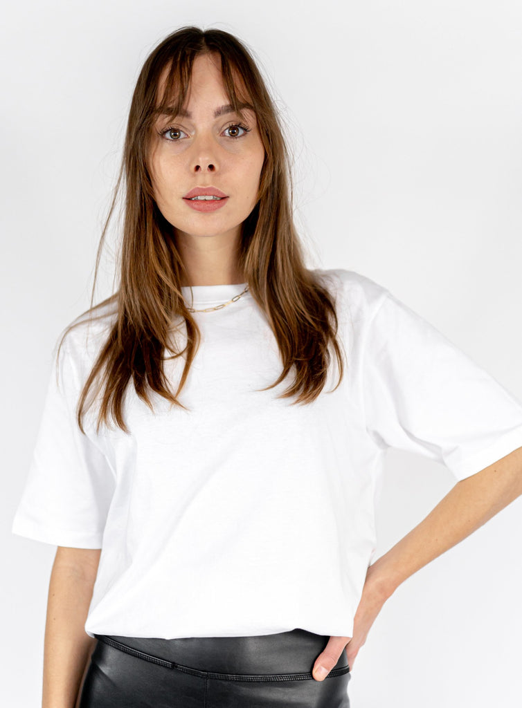 HEAVY COTTON TEE WHITE (5870847000737)