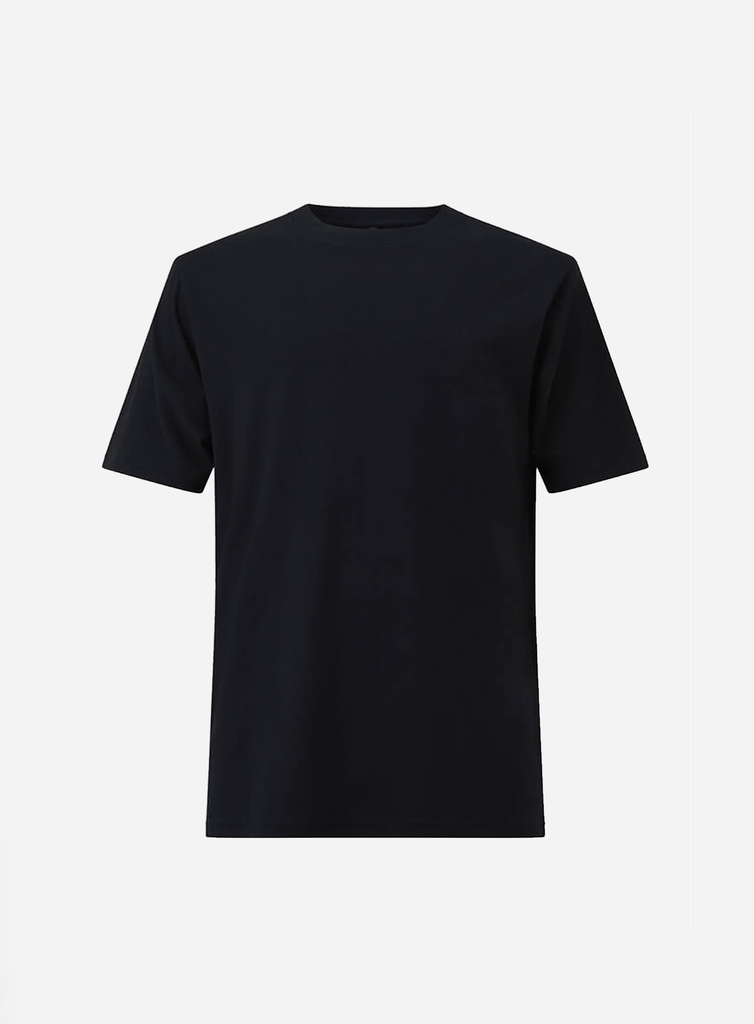 HEAVY COTTON TEE BLACK (5870942060705)