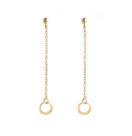 Gold Berkley Earrings