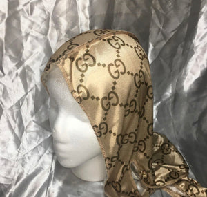 Brown Gucci Durag