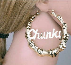"""Chunky"" Earrings"