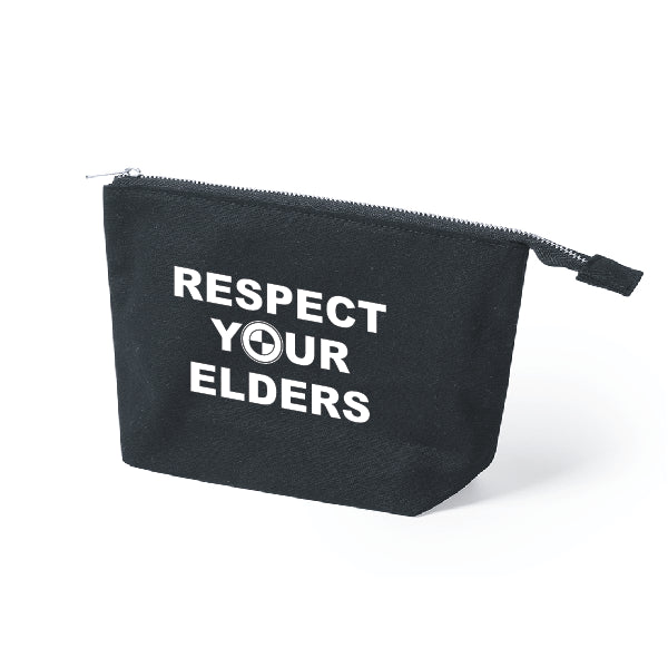 Neceser Respect Your Elders Negro