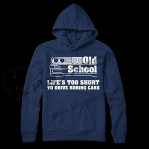 "Sudadera ""Life's too short to drive boring cars"""