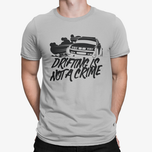 Camiseta Drifting is not a Crime
