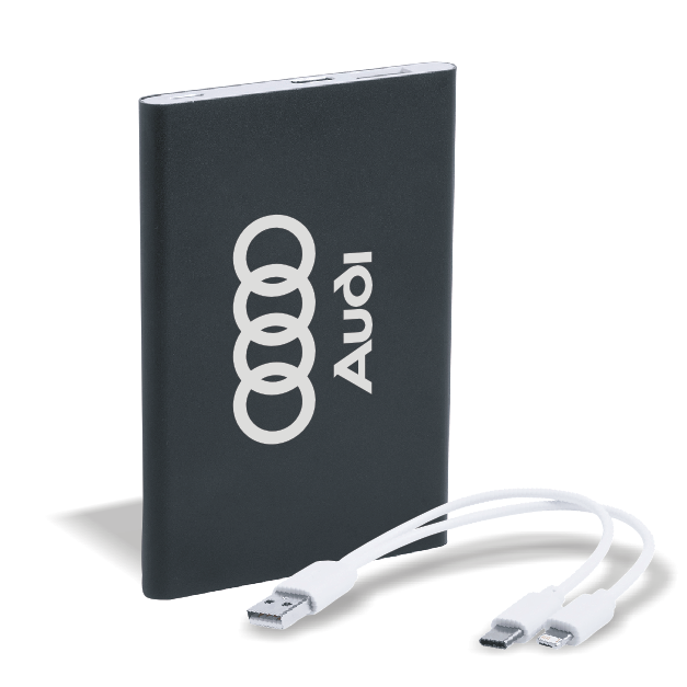 power bank audi logo
