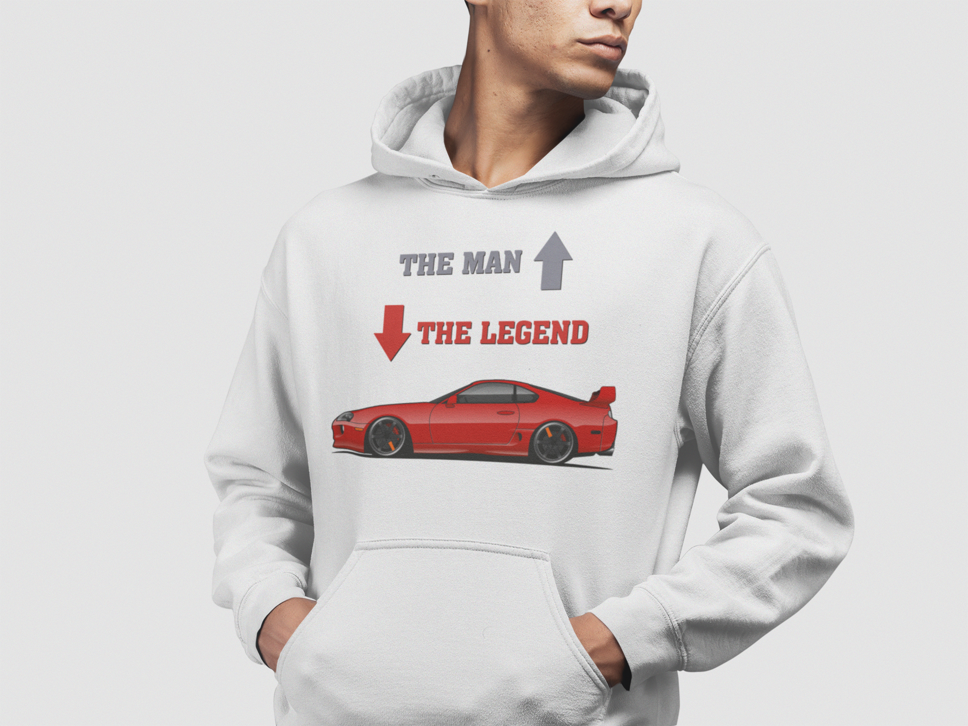 Sudadera Supra Mk4 The Man The Legend