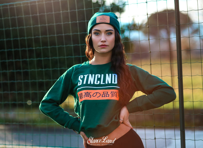 WORLDWIDE BEANIE GREEN